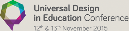 Universal Design in Education Conference, 2015