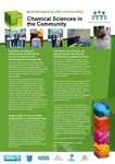 Chemical Sciences in the Community