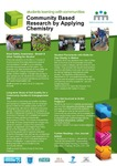 Community Based Research by Applying Chemistry