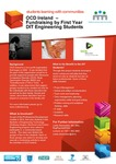 OCD Ireland:Fundraising by First Year DIT Engineering Students