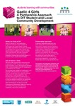 Gaelic 4 Girls: a Partnership Approach to DIT Student and Local Community Development