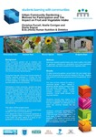 Urban Community Gardening: Motivation for Participation and the Impact on Fruit and Vegetable Intake