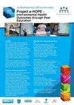 Project e-Hope- Environmental Health Outcomes Through Peer Education