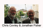 Chris Cowley and Jonathan Fisher, Heads of School, Kevin Street