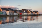 Houses at the Waterside, Claddagh, Galway by Chaosheng Zhang