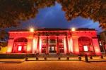 Galway City Hall At Night by Chaosheng Zhang
