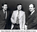 Dave Edwards, John Linnane and Lee Kidney in Jurys