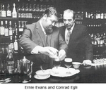 Ernie Evans and Conrad Egli