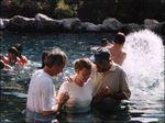 Baptism in the River Jordan