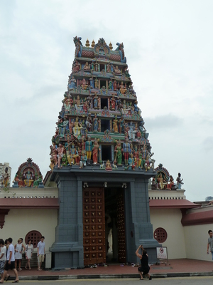 Sri Mahamariamman (Indian) Temple, Singapore