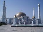 Presidential Mosque Ashgabat, Turkmenistan