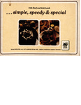 Irish Beef and Irish Lamb..Simple, Speedy & Special: Twenty Recipes for All Occasions