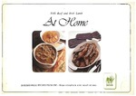 At Home: Irish Beel and Irish Lamb: 20 economical recipes from CBF: Irish Livestock and Meat Board