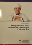Recognition of Prior Experiential Learning in Culinary Arts.