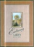 Jury's Embassy Garden Restaurant, Menu