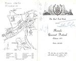 Kinsale Gourmet Festival, Menu, 26-28 October 1977