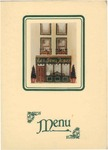 Restaurant Jammet, Menu Cover, 1940