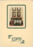 Restaurant Jammet, Menu Cover, 1940