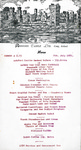 Ashford Castle, Menu, 6th July 1971