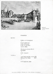 Bahnhof Buffet Zurich, Menu, 22nd September 1961