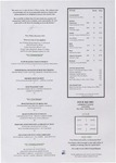 Four Seasons Hotel, Dublin: Four Square Menu
