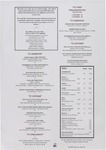 Four Seasons Hotel: Early Supper Menu