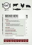 Eat Gastropub : Brunch Menu #27 by Eat Gastropub