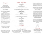 Harvey's Point : Tasting Menu