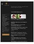 Chapter One Christmas Menus 2016 by Chapter One