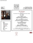 Etto Merrion Row Pre Theatre Menu 2017