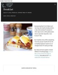 Crawford Gallery Cafe Breakfast Menu 2017