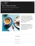 Crawford Gallery Cafe Tea Coffee and Cake Menu 2017