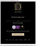 Daroka Restaurant Ballybunion Menu 2017