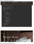 The Olde Post Inn Dessert Menu 2017