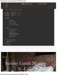 The Olde Post Inn Sunday Lunch Menu 2017