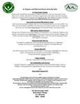 The Strawberry Tree Aughrim Big Table Menu 2017