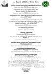 The Strawberry Tree Aughrim Dinner Menu 2017
