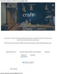 Craft Restaurant Wine List 2017