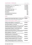 Ananda Restaurant Wine List 2017