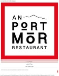 An Port Mór : A La Carte Menu