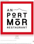 An Port Mór : A La Carte Menu by An Port Mór