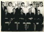 Jackie Needham and Some of the Staff from the Russell Hotel: Photograph