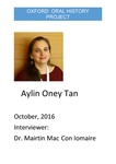 Interview with Aylin Oney Tan