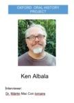Interview with Ken Albala by Máirtín Mac Con Iomaire